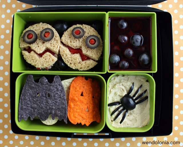Spooky Halloween Bento Lunch