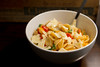 daily dish 70: orecchiette with cherry tomatoes and arugula by traciw