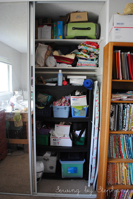 My Sewing Room: Peek into the Closet