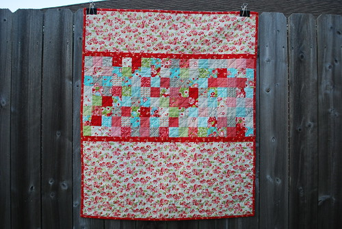 Ruby Baby Quilt