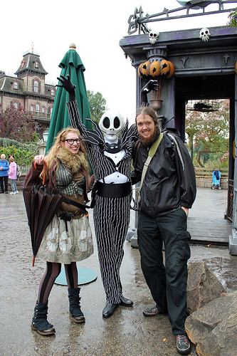 With Jack Skellington