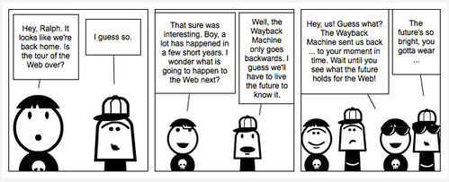Walking the Web Comic 17