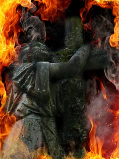 Hellfire and Damnation:  Old Cherry Hill Cemetery, Greenville, North Carolina