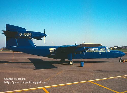 G-BEPI Britten-Norman BN-2A Mk.III-2 Trislander by Jersey Airport Photography