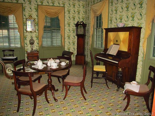 A fancy parlor, Genesee Country Village & Museum, Mumford, New York