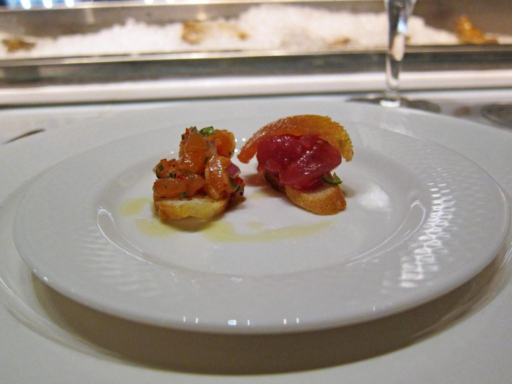 tartare sampler