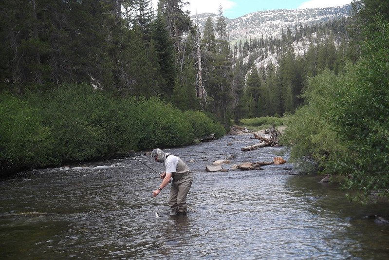 Mammoth fly fishing san joaquin river for Mammoth fishing report