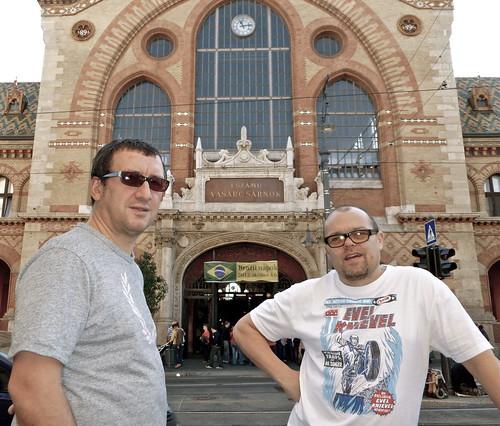 Paul & Jez in Budapest