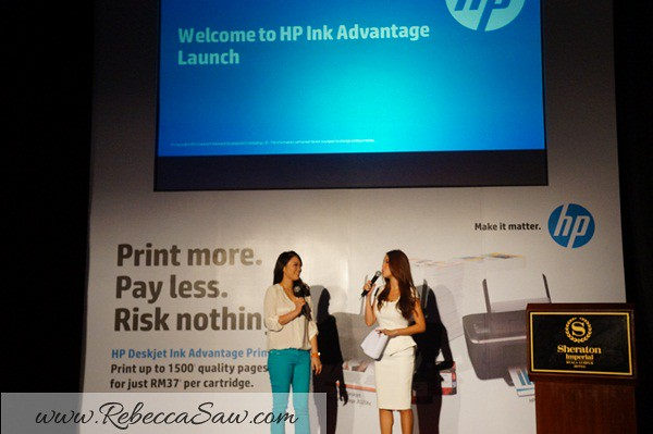 Hp ink advantage launch - Hong Yi