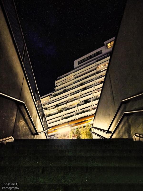Street Night Sky