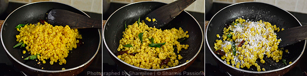 How to make chana dal sundal - Step2