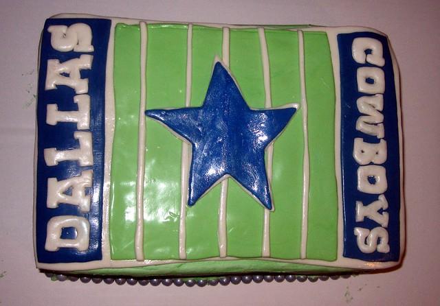 Dallas Cowboys Cake Decorating Kit