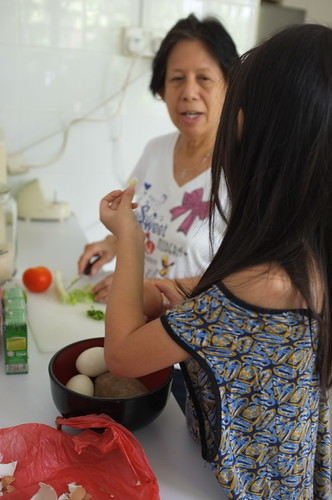 making soto with popo