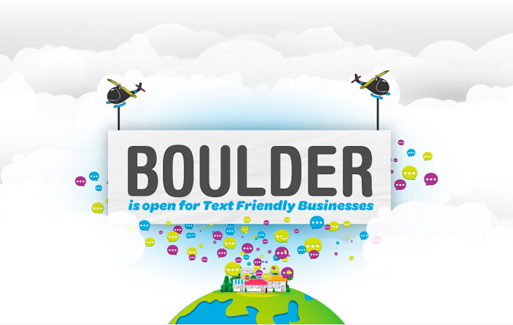 TextUs.Biz is available in Boulder!