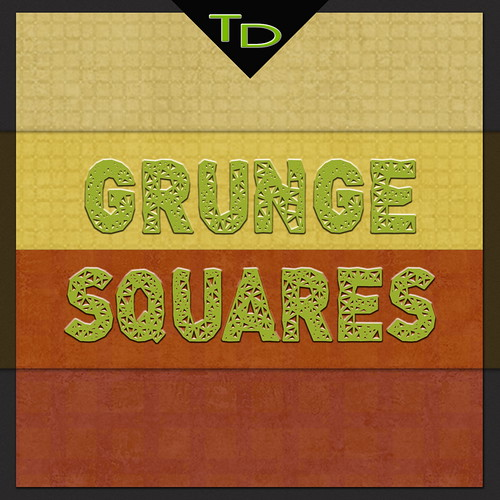 Grunge Squares BG Patterns by TanyDi