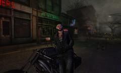 almost a subtle rainbow and krissmebaby.allen is the biker