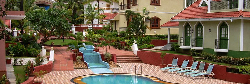 Luxury 3 bhk pool side villa Candolim