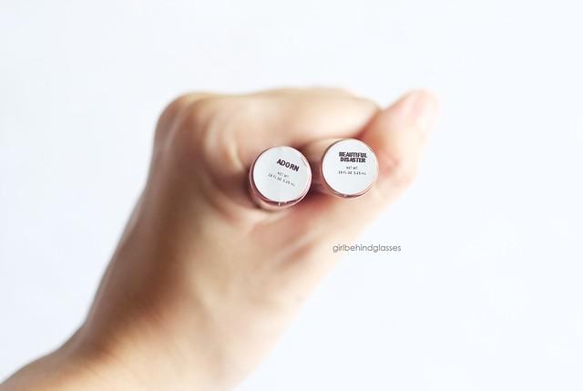 Makeup DNA Liquid Lipstick Adorn & Beautiful Disaster2