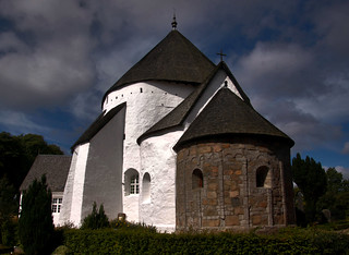 Imageof Østerlars Kirke. østerlars rundkirk rundkyrka roundchurch bornholm danmark danemark denmark dänemark giåm guillaumebavière