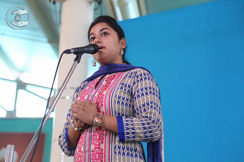 Amarpali from Swarka, Delhi, expresses her views