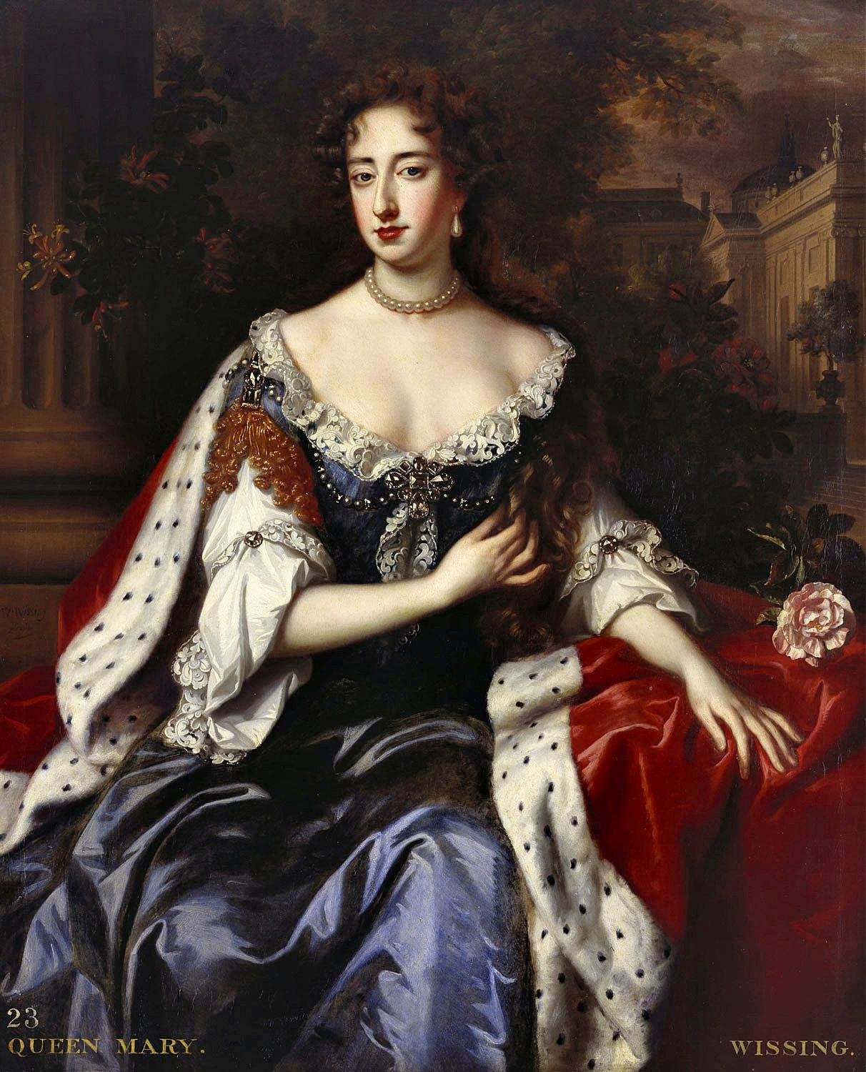 Queen Mary II by William Wissing