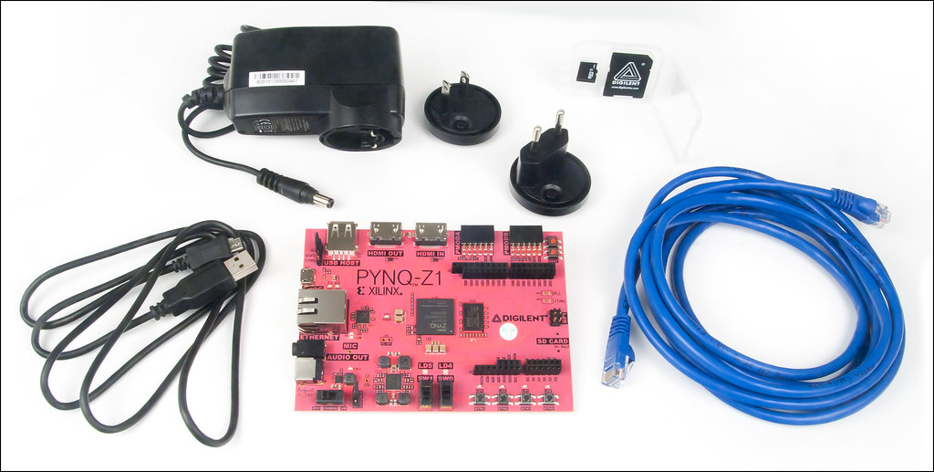 PYNQ-Z1 Accessory Kit: Recommended Addition for the PYNQ-Z