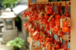 Red bottle gourds (Yudu-hyotan).