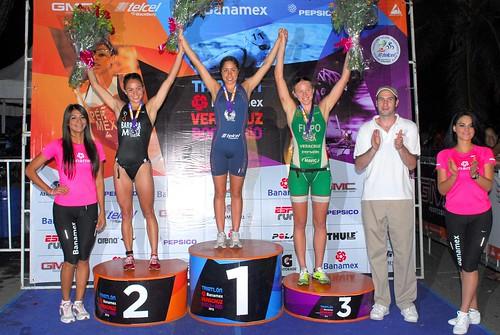Ganadores Tliatlón Veracruz 2012