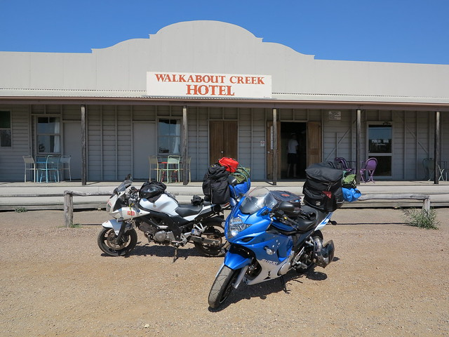 Walkabout Creek Hotel From Crocodile Dundee - McKinlay Queensland