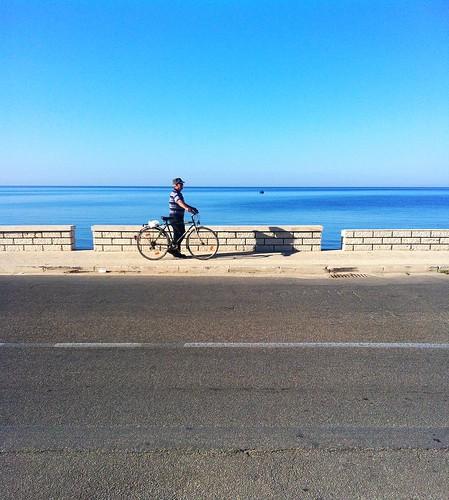 street sea italy panorama mer man landscape strada italia mare uomo sicily ritratto sicilia mazara