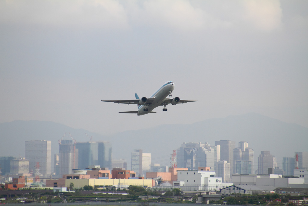 ANA Mohikan Jet (B767-300 / JA602A) 2