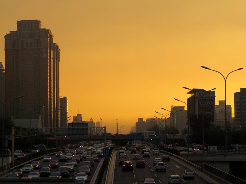 Coucher de soleil@Beijing