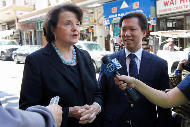 Senator Dianne Feinstein has endorsed David Lee for District 1 Supervisor from Flickr via Wylio