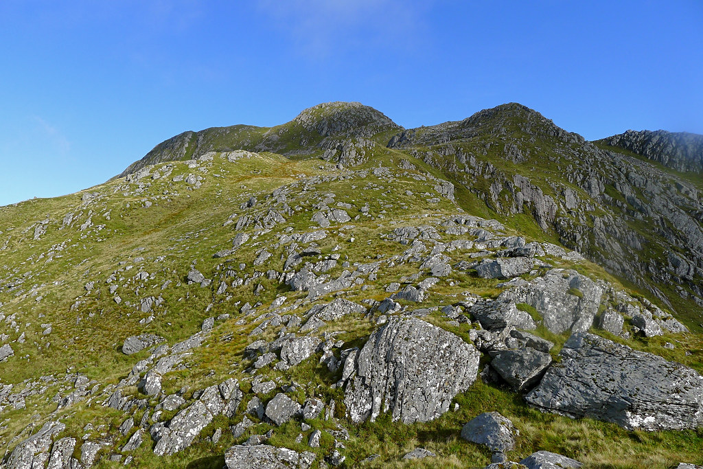 The ridge above Coire Odhair