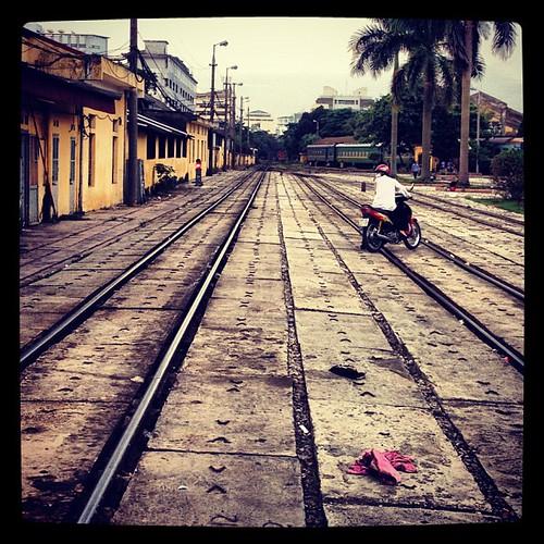 #Hanoi Station. #Vietnam