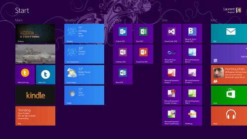 Start menu at 1920x1080