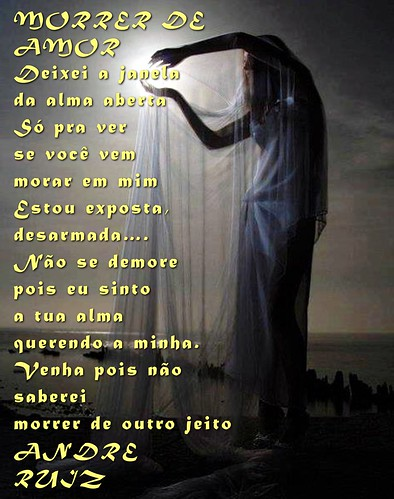 MORRER DE AMOR by amigos do poeta