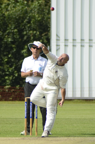 Julian Ballinger, who claimed his 400th Southern Premier League wicket on Saturday