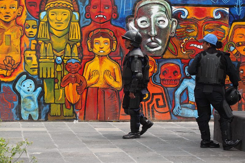 Colourful Cops, Mexico City