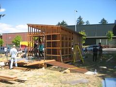 Bike Repair Hub Construction - 8.31.12