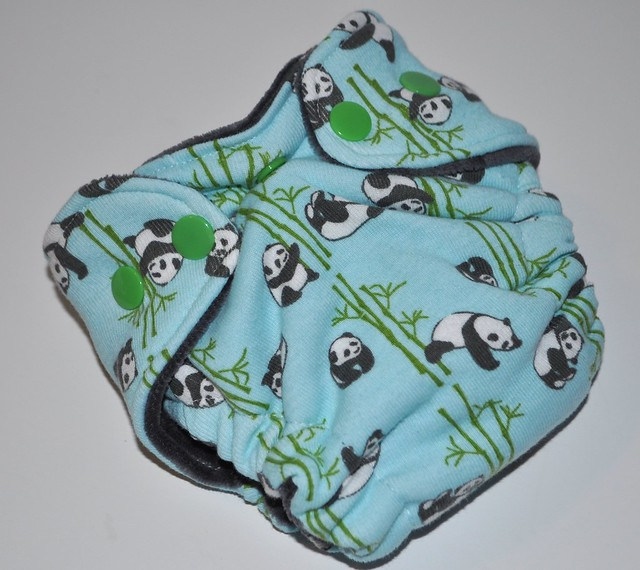 Bumstoppers Newborn Peter Panda Fitted CV