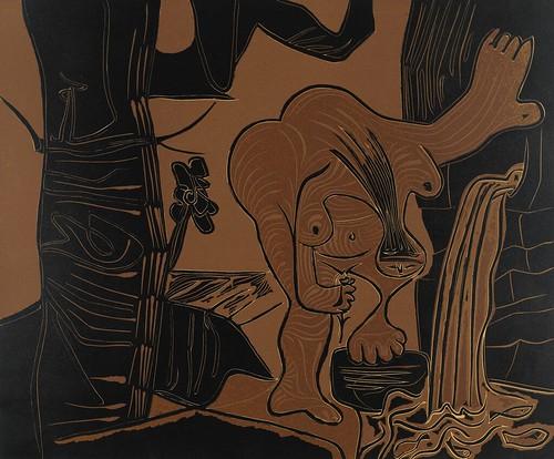 [ P ] Pablo Picasso - Femme nue a la source (1962) by Cea.