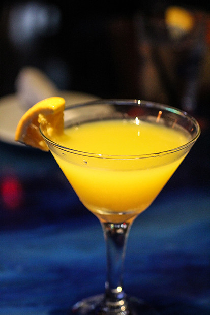 Mango Martini, Blu Que Island Grill, Siesta Key, Sarasota, FL