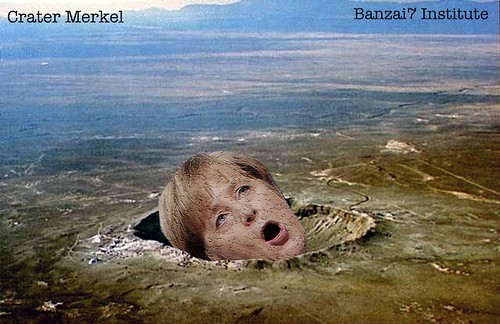 CRATER MERKEL by Colonel Flick