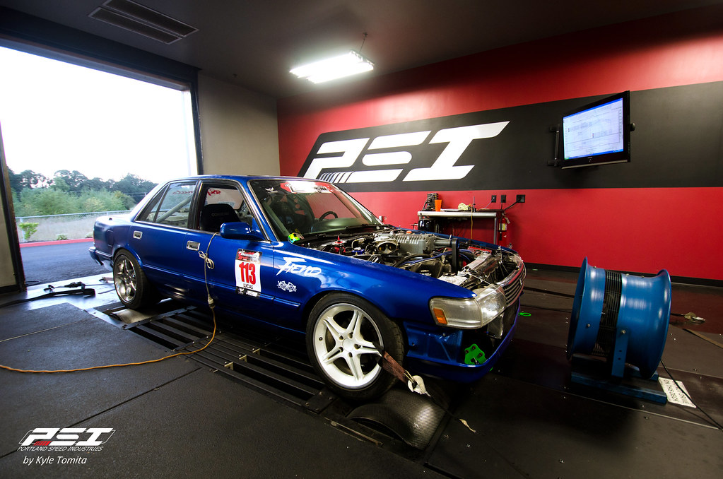 Justin Lucas Cressida on the dyno at PSI