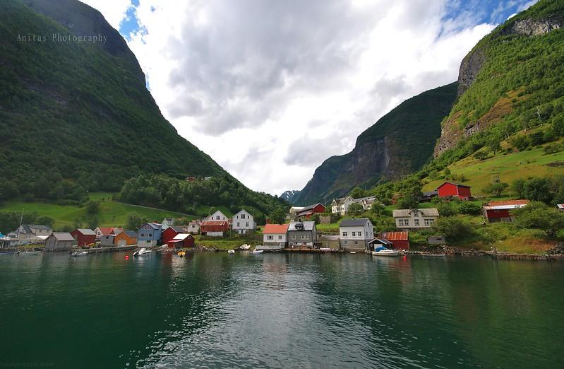 A fjord village