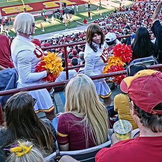 The USC Cheerleaders Get Prettier Every Year