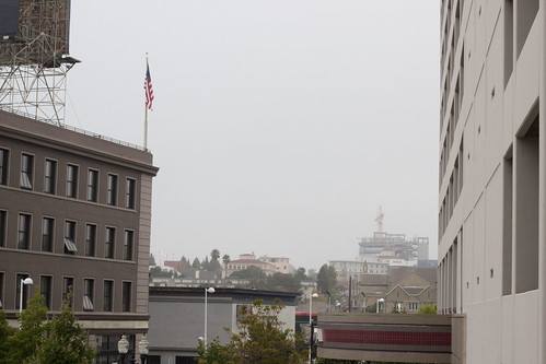 Grey day in Oakland