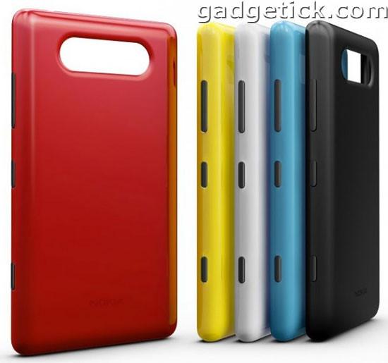 Nokia представила смартфоны Nokia Lumia 920 и Nokia Lumia 820