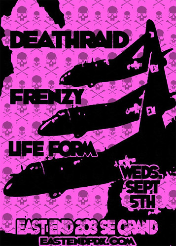 9/5/12 Deathraid/Frenzy/LifeForm